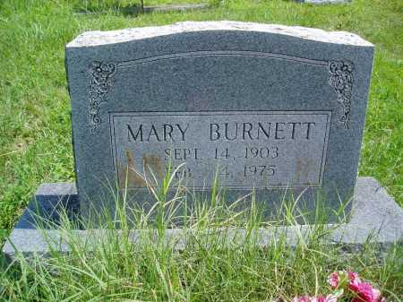 BAKER BURNETT, MARY - Madison County, Arkansas | MARY BAKER BURNETT - Arkansas Gravestone Photos