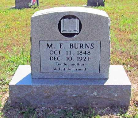 BURNS, M. E. - Madison County, Arkansas | M. E. BURNS - Arkansas Gravestone Photos
