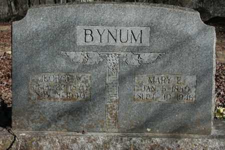BYNUM, MARY E. - Madison County, Arkansas | MARY E. BYNUM - Arkansas Gravestone Photos
