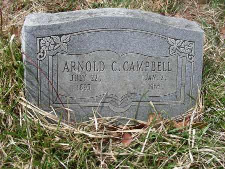 CAMPBELL, ARNOLD CALHOUN - Madison County, Arkansas   ARNOLD CALHOUN CAMPBELL - Arkansas Gravestone Photos