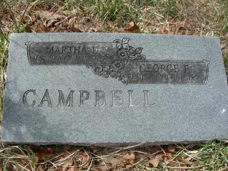 NEILL CAMPBELL, MARTHA LEE - Madison County, Arkansas | MARTHA LEE NEILL CAMPBELL - Arkansas Gravestone Photos