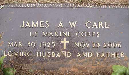 "CARL (VETERAN WWII), JAMES  A. W. ""ANDY"" - Madison County, Arkansas | JAMES  A. W. ""ANDY"" CARL (VETERAN WWII) - Arkansas Gravestone Photos"
