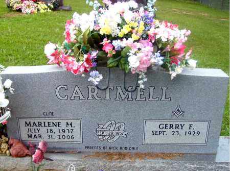 CLINE CARTMELL, MARLENE M. - Madison County, Arkansas | MARLENE M. CLINE CARTMELL - Arkansas Gravestone Photos