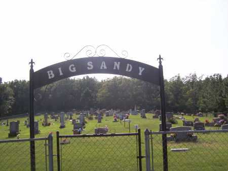 *BIG SANDY CEMETERY ENTRANCE,  - Madison County, Arkansas    *BIG SANDY CEMETERY ENTRANCE - Arkansas Gravestone Photos