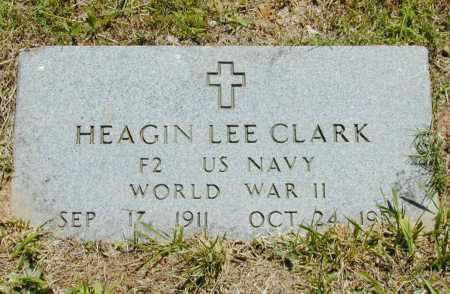 CLARK (VETERAN) WWII), HEAGIN LEE - Madison County, Arkansas | HEAGIN LEE CLARK (VETERAN) WWII) - Arkansas Gravestone Photos