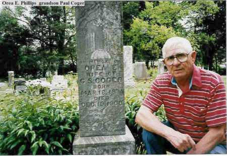 PHILLIPS COGER, OREA E. - Madison County, Arkansas | OREA E. PHILLIPS COGER - Arkansas Gravestone Photos