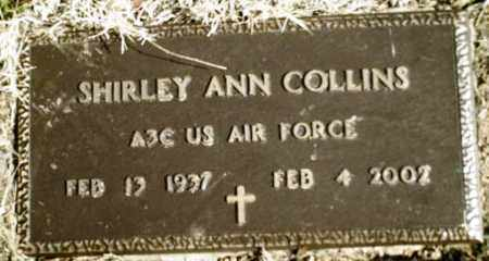 COLLINS  (VETERAN), SHIRLEY ANN - Madison County, Arkansas | SHIRLEY ANN COLLINS  (VETERAN) - Arkansas Gravestone Photos