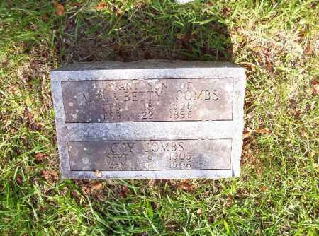 COMBS, COY - Madison County, Arkansas | COY COMBS - Arkansas Gravestone Photos