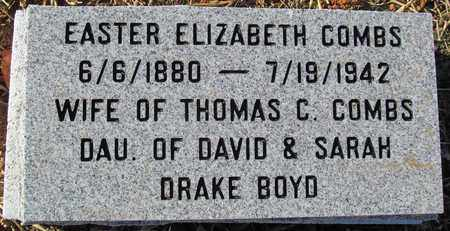 BOYD COMBS, EASTER ELIZABETH - Madison County, Arkansas | EASTER ELIZABETH BOYD COMBS - Arkansas Gravestone Photos