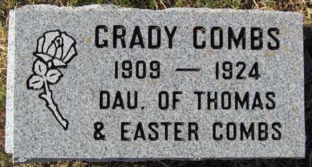 COMBS, GRADY - Madison County, Arkansas   GRADY COMBS - Arkansas Gravestone Photos