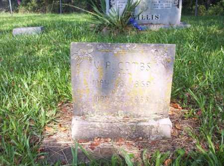 COMBS, VIRGIL A - Madison County, Arkansas | VIRGIL A COMBS - Arkansas Gravestone Photos