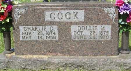 COOK, CHARLIE C. - Madison County, Arkansas | CHARLIE C. COOK - Arkansas Gravestone Photos