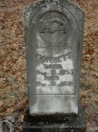 CORNETT, ARCH - Madison County, Arkansas   ARCH CORNETT - Arkansas Gravestone Photos
