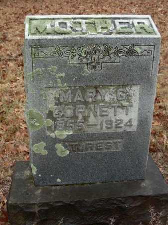 CORNETT, MARY G. - Madison County, Arkansas   MARY G. CORNETT - Arkansas Gravestone Photos
