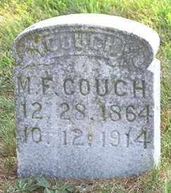 COUCH, M. F. - Madison County, Arkansas | M. F. COUCH - Arkansas Gravestone Photos