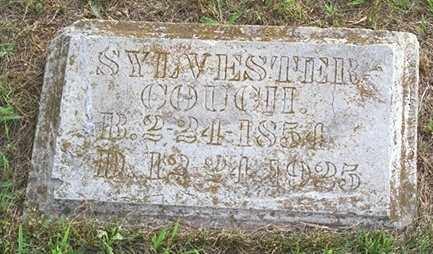 COUCH, SYLVESTER - Madison County, Arkansas | SYLVESTER COUCH - Arkansas Gravestone Photos