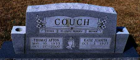COUCH, THOMAS AFTON (OBVERSE) - Madison County, Arkansas | THOMAS AFTON (OBVERSE) COUCH - Arkansas Gravestone Photos