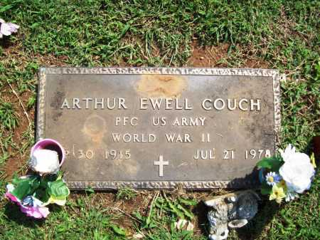 COUCH (VETERAN WWII), ARTHUR EWELL - Madison County, Arkansas | ARTHUR EWELL COUCH (VETERAN WWII) - Arkansas Gravestone Photos