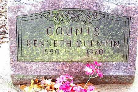 COUNTS, KENNETH  QUENTION - Madison County, Arkansas | KENNETH  QUENTION COUNTS - Arkansas Gravestone Photos