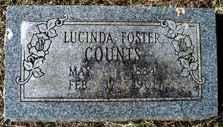 COUNTS, LUCINDA - Madison County, Arkansas | LUCINDA COUNTS - Arkansas Gravestone Photos