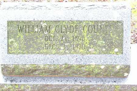 COUNTS, WILLIAM CLYDE - Madison County, Arkansas | WILLIAM CLYDE COUNTS - Arkansas Gravestone Photos