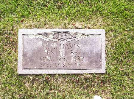DAVIS, ELIJAH DANIEL - Madison County, Arkansas   ELIJAH DANIEL DAVIS - Arkansas Gravestone Photos