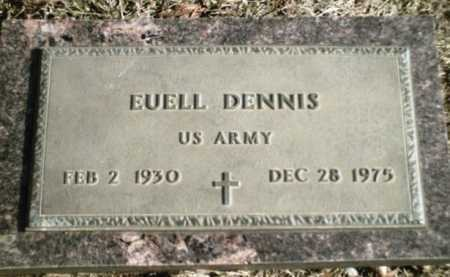 DENNIS  (VETERAN), EUELL - Madison County, Arkansas | EUELL DENNIS  (VETERAN) - Arkansas Gravestone Photos