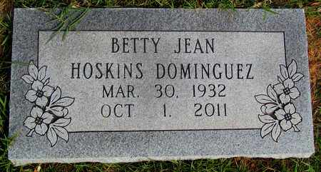 DOMINGUEZ, BETTY JEAN - Madison County, Arkansas | BETTY JEAN DOMINGUEZ - Arkansas Gravestone Photos