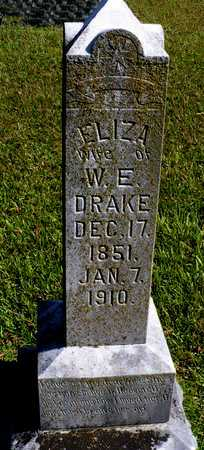 DRAKE, ELIZA - Madison County, Arkansas   ELIZA DRAKE - Arkansas Gravestone Photos