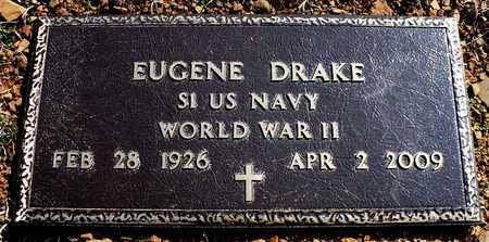 DRAKE (VETERAN WWII), EUGENE - Madison County, Arkansas | EUGENE DRAKE (VETERAN WWII) - Arkansas Gravestone Photos