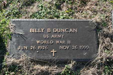 DUNCAN (VETERAN WWII), BILLY B - Madison County, Arkansas | BILLY B DUNCAN (VETERAN WWII) - Arkansas Gravestone Photos