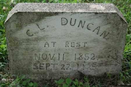DUNCAN, C.L. - Madison County, Arkansas | C.L. DUNCAN - Arkansas Gravestone Photos