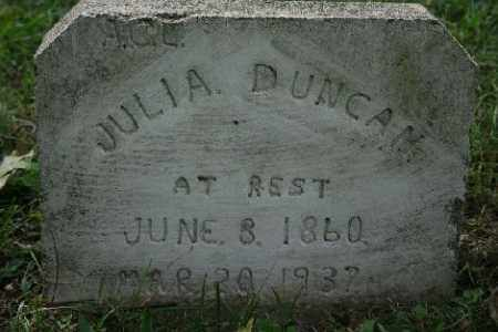 DUNCAN, JULIA - Madison County, Arkansas | JULIA DUNCAN - Arkansas Gravestone Photos