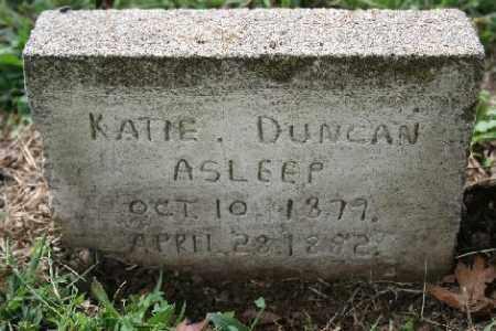 DUNCAN, KATIE - Madison County, Arkansas | KATIE DUNCAN - Arkansas Gravestone Photos
