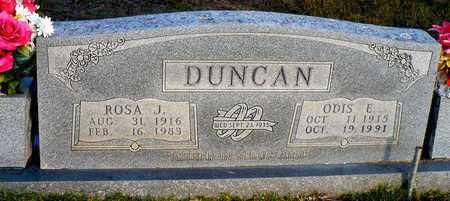 DUNCAN, ROSA J. - Madison County, Arkansas | ROSA J. DUNCAN - Arkansas Gravestone Photos