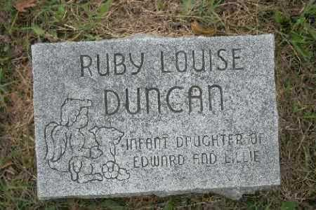 DUNCAN, RUBY LOUISE - Madison County, Arkansas | RUBY LOUISE DUNCAN - Arkansas Gravestone Photos