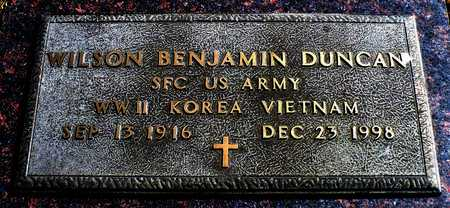 DUNCAN (VETERAN 3 WARS), BENJAMIN WILSON - Madison County, Arkansas | BENJAMIN WILSON DUNCAN (VETERAN 3 WARS) - Arkansas Gravestone Photos