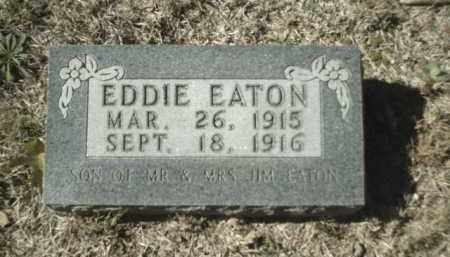 EATON, EDDIE - Madison County, Arkansas | EDDIE EATON - Arkansas Gravestone Photos