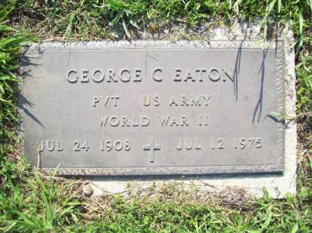 EATON (VETERAN WWII), GEORGE CARL - Madison County, Arkansas   GEORGE CARL EATON (VETERAN WWII) - Arkansas Gravestone Photos