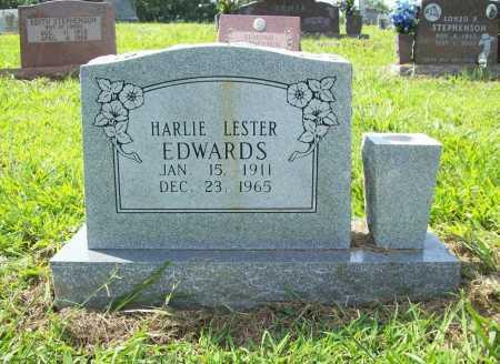 EDWARDS, HARLIE LESTER - Madison County, Arkansas | HARLIE LESTER EDWARDS - Arkansas Gravestone Photos