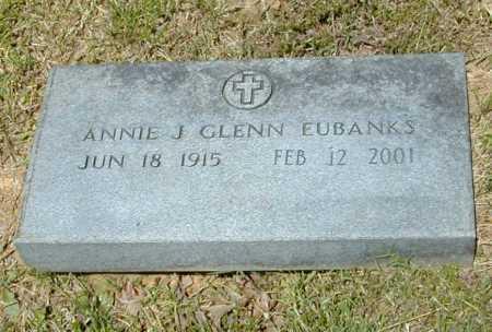 GLENN EUBANKS, ANNIE J. - Madison County, Arkansas | ANNIE J. GLENN EUBANKS - Arkansas Gravestone Photos
