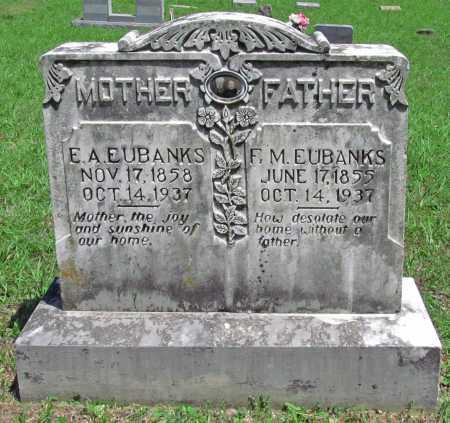 EUBANKS, ESTHER ANN - Madison County, Arkansas | ESTHER ANN EUBANKS - Arkansas Gravestone Photos