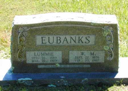 "DRAIN EUBANKS, COLUMBINE LUELLEN ""LUMMIE"" - Madison County, Arkansas 