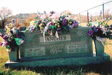 FREEMAN FANCHER, MYRNA NADINE - Madison County, Arkansas | MYRNA NADINE FREEMAN FANCHER - Arkansas Gravestone Photos