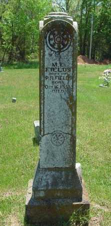 FIELDS, MARY ELIZABETH - Madison County, Arkansas | MARY ELIZABETH FIELDS - Arkansas Gravestone Photos