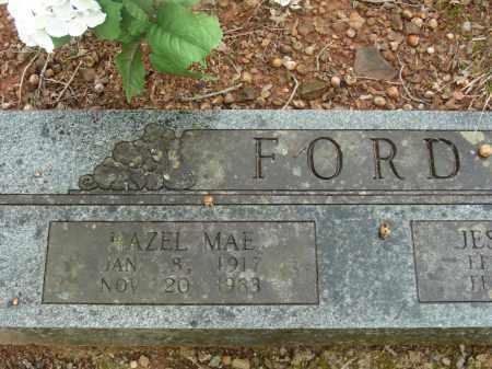 FORD, HAZEL MAE - Madison County, Arkansas   HAZEL MAE FORD - Arkansas Gravestone Photos