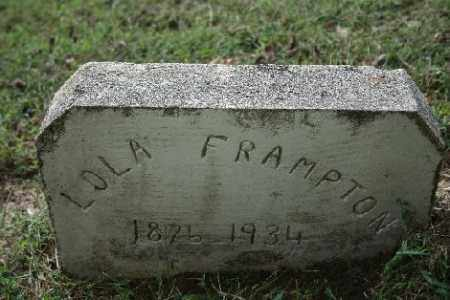 FRAMPTON, LOLA - Madison County, Arkansas   LOLA FRAMPTON - Arkansas Gravestone Photos