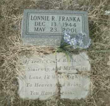 FRANKA, LONNIE RAY - Madison County, Arkansas | LONNIE RAY FRANKA - Arkansas Gravestone Photos