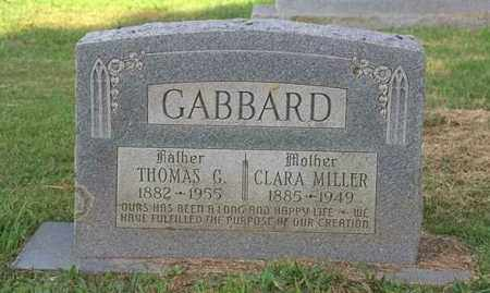 "GABBARD, CLARISSA ""CLARA"" - Madison County, Arkansas | CLARISSA ""CLARA"" GABBARD - Arkansas Gravestone Photos"