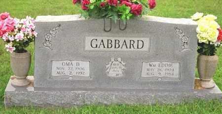 GABBARD, OMA D - Madison County, Arkansas | OMA D GABBARD - Arkansas Gravestone Photos